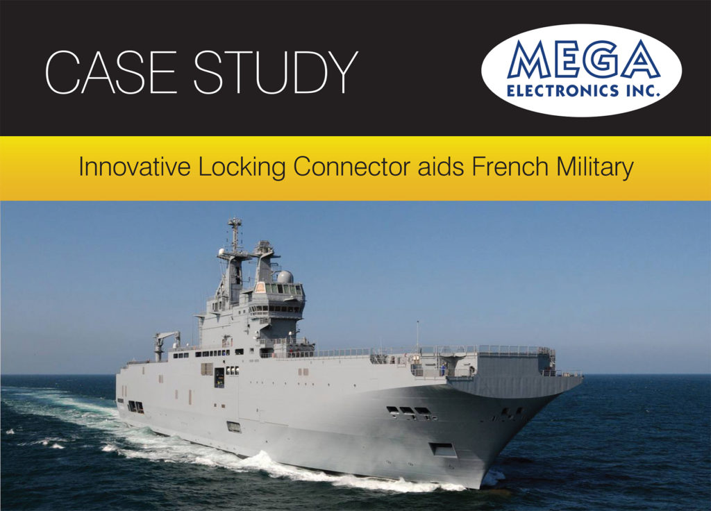Innovative Locking Connector aids French Military